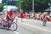 Blowing Rock NC 4th of July Parade