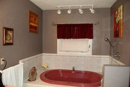 Guest Bathroom with Jacuzzi Tub